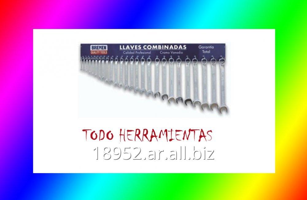Comprar Llave combinadas 6 a 32 mm. con tablero Bremen
