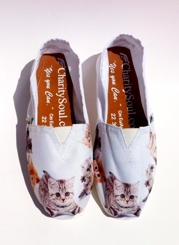 Comprar Canvas shoes / calzado casual gatitos