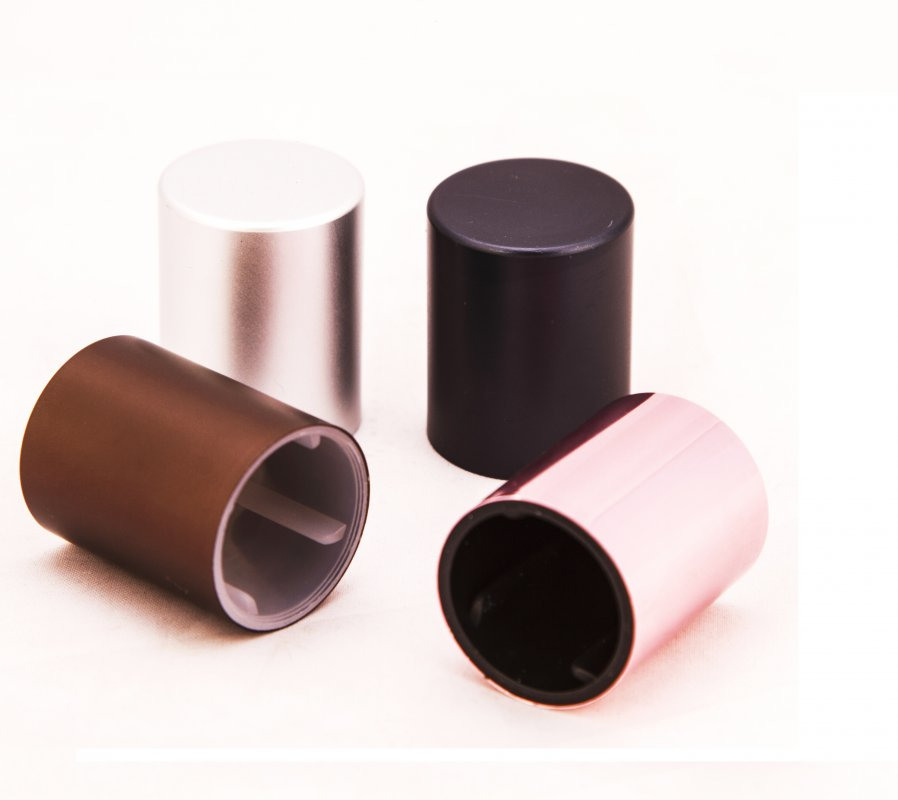 Comprar Componentes Metálicos, para Cosmética, Perfumería y Farma.