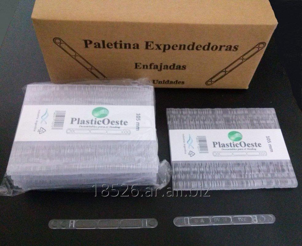 Comprar Paletinas plasticas expendedora aut. 105 mm