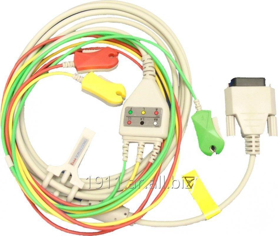 Comprar Cable a paciente DB15M - 3 pinzas 10K 10%, 1W para Polígrafo