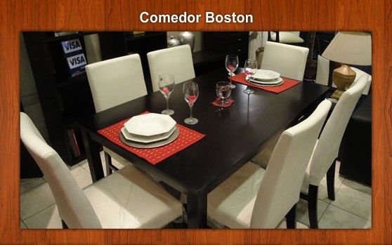 Comprar Comedor Boston