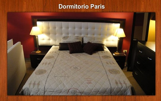 Dormitorio Paris