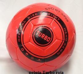 Pelota Turbo roja