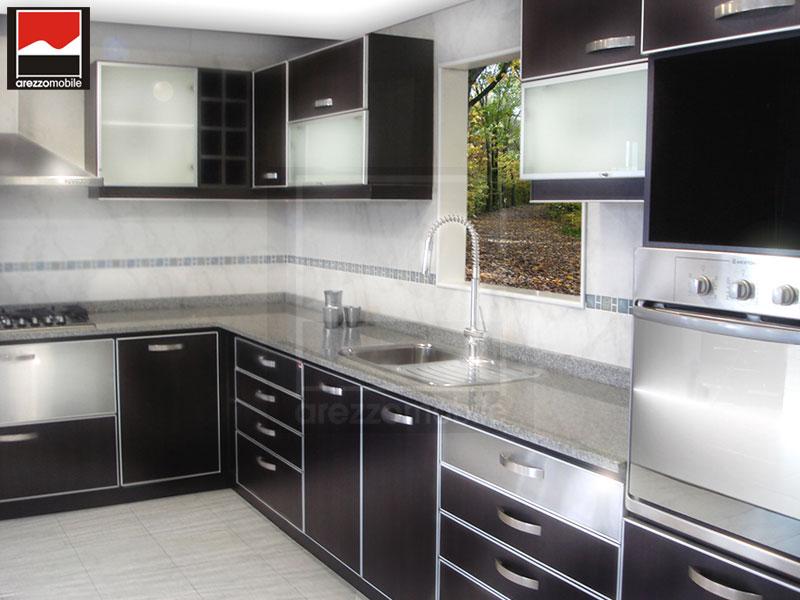 Muebles de cocinas modernas de melamina - Muebles de cocina modernas ...