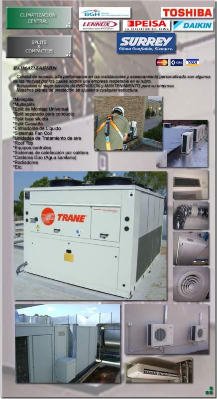 Comprar Sistemas de climatizacion