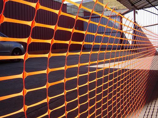 Comprar Malla Naranja de Señalizacion, Vallado, Faena, para Construcción.