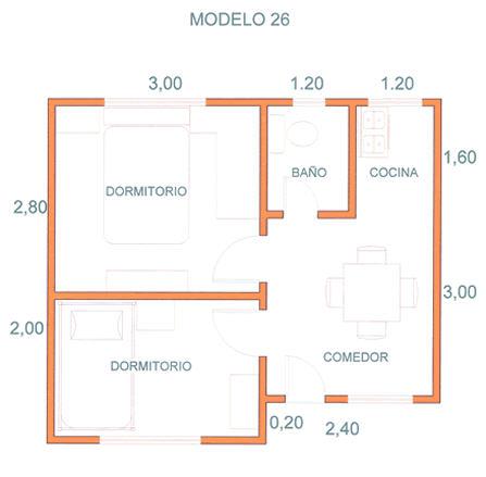 Comprar Casas, Modelo 26 A