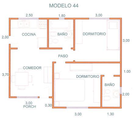 Comprar Casas, Modelo 44