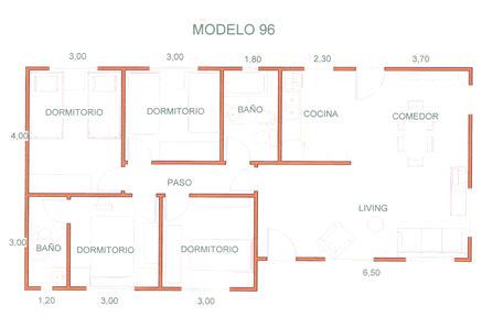 Comprar Casas, Modelo 96