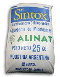 Comprar Adsorbentes de Micotoxinas Sintox