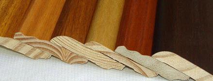 Linea chapa de madera natural o con lustre