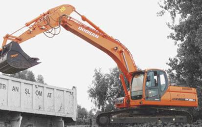 Comprar Excavadora Sobre Oruga DX255LC
