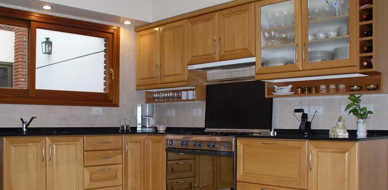 Muebles de madera para cocina tradicionales comprar en