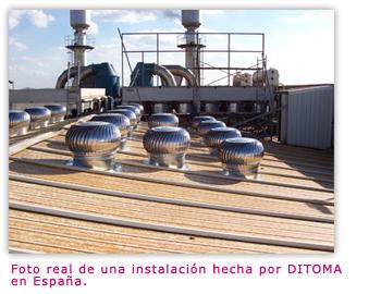 Comprar Extractores eólicos industriales