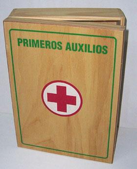 Comprar Botiquín de primeros auxilios.