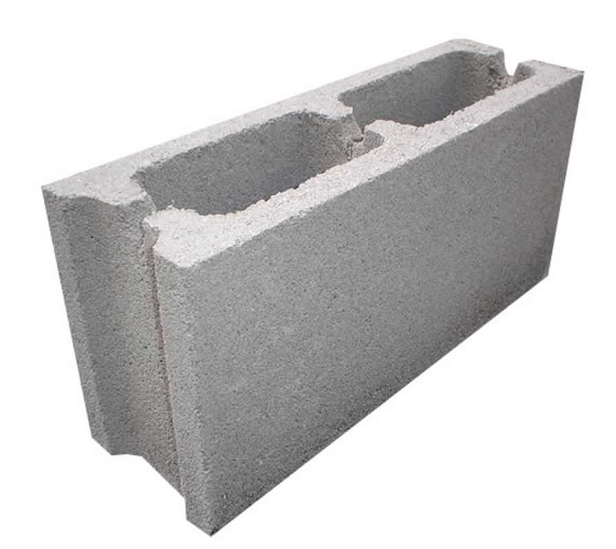 bloque para muro de cm de espesor