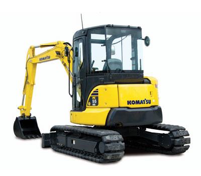 Comprar Mini Escavadora PC55MR-3