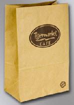 Comprar Bolsa de papel con fondo cuadrado mediana