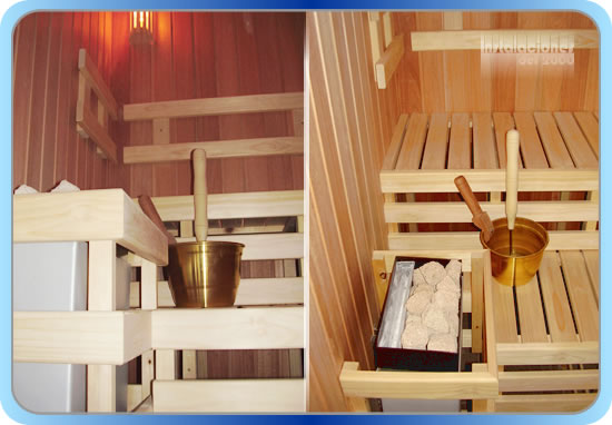 Accesorios de baño sauna