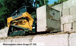 Comprar Minicargador sobre Oruga CT332, CT332