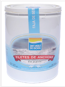 Filetes de Anchoas en aceite