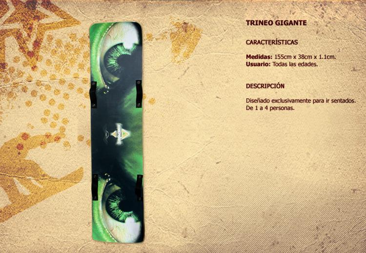Comprar Trineo Gigante
