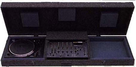 Comprar Porta bandeja para discos de vinilo con mixer