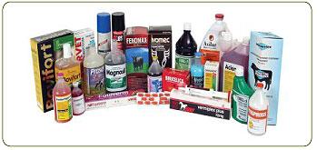 Препараты фармацевтические ветеринарные.
