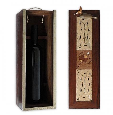 caja p vino maderas