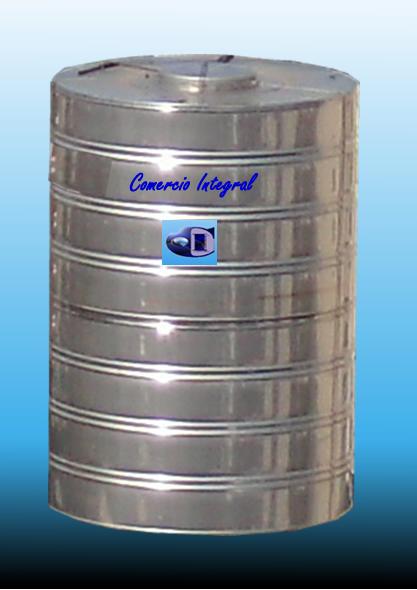 Comprar Tanque de acero inoxidable para agua de 1000 litros vertical