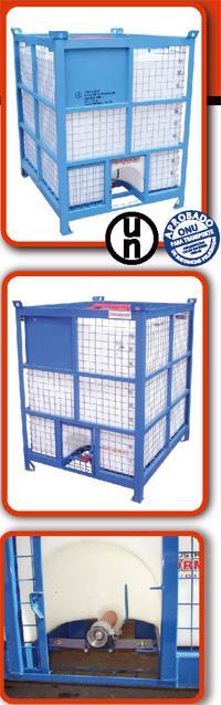 Comprar Contenedor Plástico Better para transportar y almacenar productos quimicos, petroquimicos y alimenticios