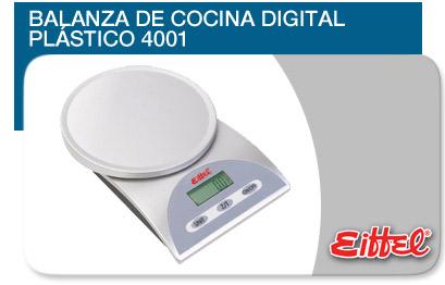 Comprar Balanza de Cocina Digital Plastico 4001