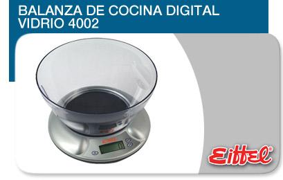 Comprar Balanza de Cocina Digital Vidrio 4002