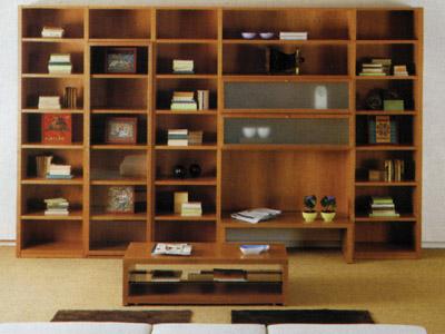 Bibliotecas Aparadores Cod Ba 002 Comprar En - Bibliotecas-de-madera