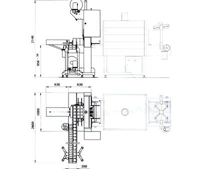 Comprar Maquina empaquetadora en film termocontraible SRNA 650