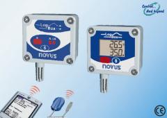Registrador Electronico de Temperatura y Humedad