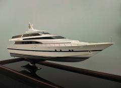 Radio-controlled models of launches, yachts, ships