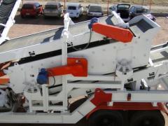 Sortation conveyor for piece goods