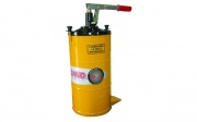 Pumps pneumatic for oils and lubricants