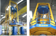 Equipment for manufacturing of drain chutes and