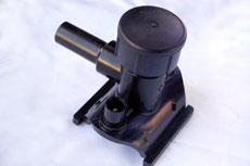 Cross-over hot gas valve