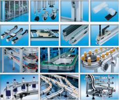 Sistemas de transporte modular y perfiles de