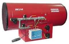 Turbocalentadores a gas LINEA MJ4 - SERIE CHD