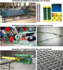 Máquinas automáticas para alambres