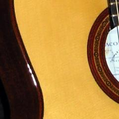 Guitarras Concierto firmadas (José Yacopi) Caoba