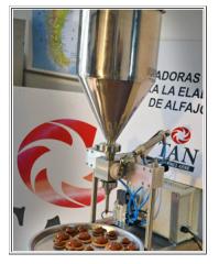 Dosificadoras de alfajores (Semi-Automático)