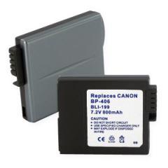 Batería Canon BP-406 7,4v/ 650mah