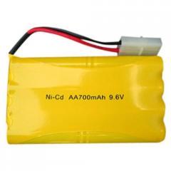 Batería P/ RC - Automodelismo AA - 9,6v / 900mah