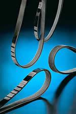 Driving flat belts